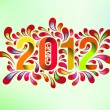 2012 year cover — Stock Vector #31422033