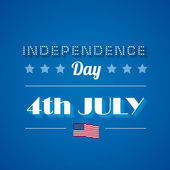 USA Independence day poster vector design template. — Stock Vector