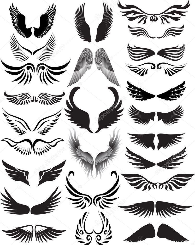 ... silhouette guardian angel silhouette demon wing silhouette dark angel