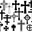 Crosses — Stock Vector #13565770