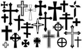 Crosses — Stockvector