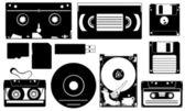 存储设备 — 图库矢量图片