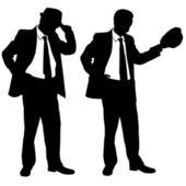бизнесмены — Cтоковый вектор