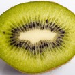 Stock Photo: Half kiwi fruit