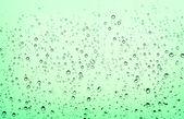 Waterdrops sulla finestra — Foto Stock
