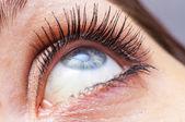 œil féminin bouchent — Photo