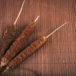 Broadleaf cattail plant — Stock Photo #17650213