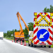 Road works — Stockfoto #17817233