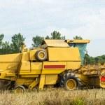 Combine harvester — Stock Photo #17850619