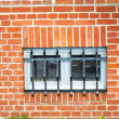 Jail window — Stock Photo