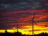 Windturbines — Stock Photo