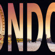 Royalty-Free Stock Photo: London word