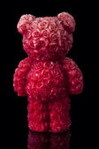 Red candle bear — Stock Photo