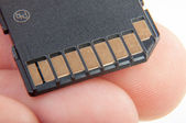 Memory card — Stock Photo