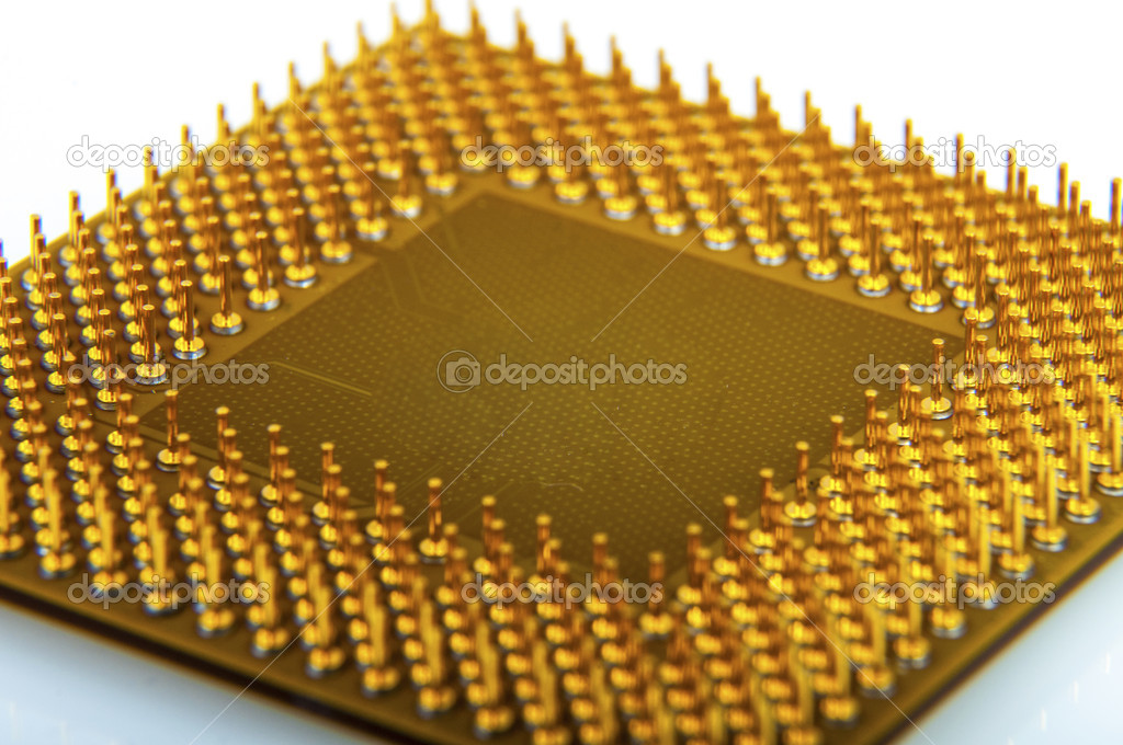An image of central processing unit. CPU — Stock Photo #19062625
