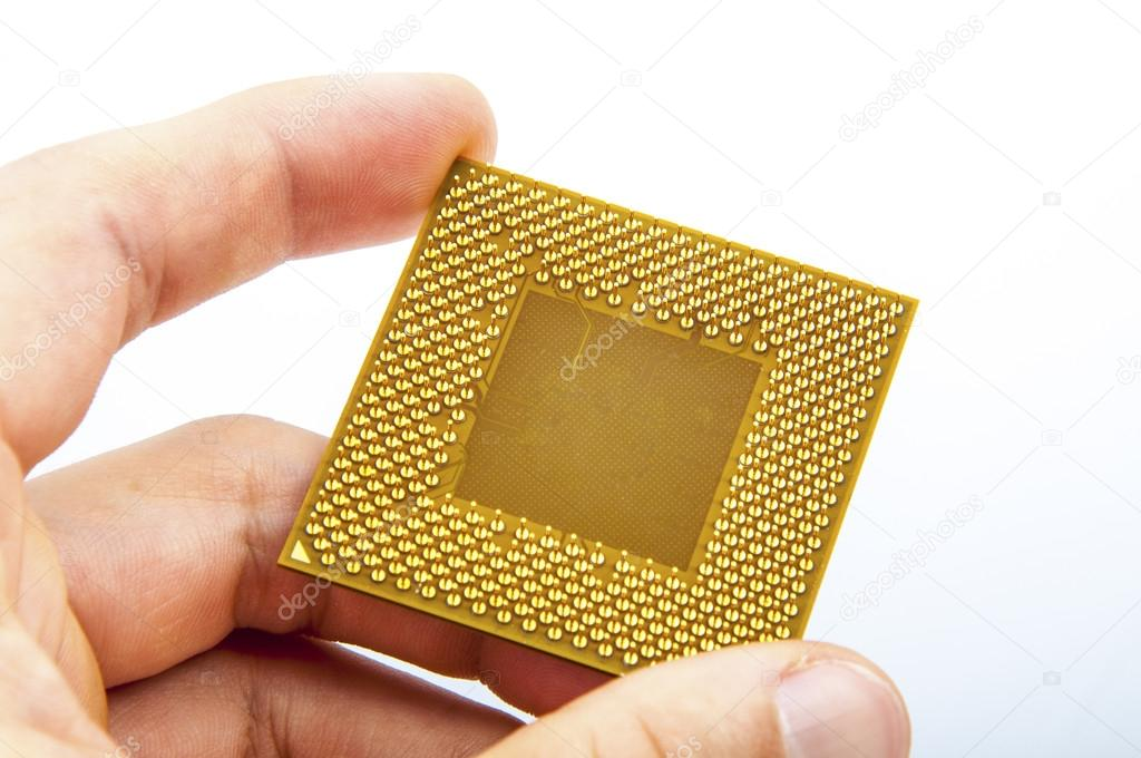An image of central processing unit. CPU — Stock Photo #19062769
