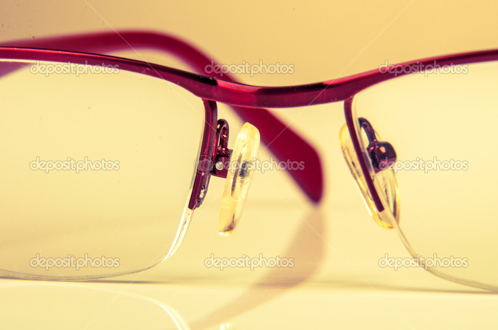 An image of glasses isolated on white — Stock Photo #19556829