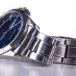 Elegant men's wristwatch — Stock Photo