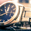 Stock Photo: Elegant wristwatch