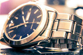 Elegant wristwatch — Stock Photo