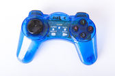 Blue joypad — Stock Photo