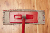 Red dwile and dirt floor — Stock Photo
