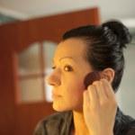 Woman doing make up — Stock Photo #25823321