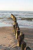 Sunset over Baltic Sea — Stock Photo