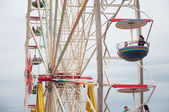 Visitors on Ferris Wheel — Stock Photo