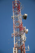 Tower transmitters — Stock Photo