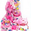 Pink fashion accessories for girl — Foto Stock