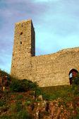 Bastille de yıkık ortaçağ kalesi — Stok fotoğraf