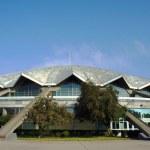Sports hall in Poznan — Stock Photo