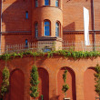 Stock Photo: Building from red brick