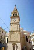 Church tower in Zakynthos town — Stock Photo