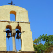Church tower in Corfu island — Stock Photo #13768622