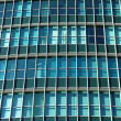 Glass wall of high-rise building — Foto Stock
