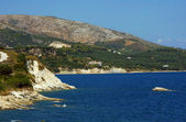 Coast on Zakynthos island — Stock Photo