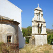 Stock Photo: Church tower in Corfu island