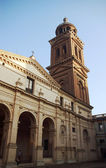 Tower of Cathedral of Saint Peter in Mantua — Stock Photo
