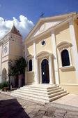 Kostel ve městě zakynthos — Stock fotografie