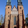 Stock Photo: Archicathedral Basilicin Poznan