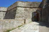 Gateway in palaio frourio, città di corfù — Foto Stock