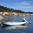 Port in city of Zakynthos — Stock Photo