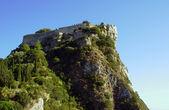 Bizantyjski zamek na wyspie Korfu — Zdjęcie stockowe