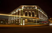 University of Arts in Poznań by night — Foto Stock