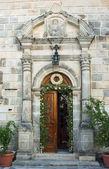 Gateway to monastery in Zakynthos island — Stock Photo