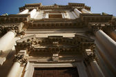 Facade of the church, Mantova — Stock Photo