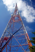 Antenna on top of Pantokrator, Corfu island — Stock Photo