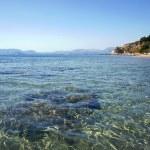 Stones at the bottom of the bay, island of Zakynthos — Stock Photo #19718533